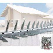 Kit 10 Metros Lança Mandíbula Muro Proteção Perfurante Forte