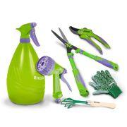 Kit Completo Jardinagem Palisad C/ Pulverizador 1,25 Manual