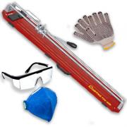 Kit Cortador e Riscador de Pisos e Azulejos Cortag TEC - 100 C/ Itens de Proteção