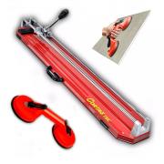 Kit Cortador e Riscador de Pisos e Azulejos Cortag TEC - 75 C/ Ventosa Dupla