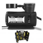 Kit Ferramentas C/200 Pçs Profissional + Compressor de Ar