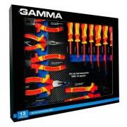 Kit Ferramentas Isoladas 1000v Vde 13 Peças G19566ac Gamma