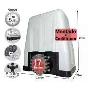 Kit Motor Dz Rossi Dz4 1/3 Sk Turbo 3m Cremalhe 5 Controles 127v