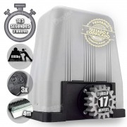 Kit Motor Dz Rossi Dz4 1/3 Sk Turbo 4m Cremalhe 3 Controles 220v