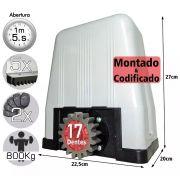 Kit Motor Dz Rossi Dz4 1/3 Sk Turbo 5m Crema Ouro 2 Controle 220v