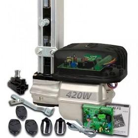 Kit Motor Portão Automatizador Basculante com 3 controles Rossi Nano 1/4hp 110v 1,5m