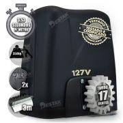 Kit Motor Portão Eletrônico Dz Atto 1/5hp 3 Crema 2 Controle 127V