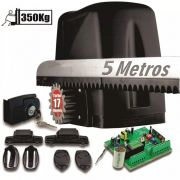 Kit Motor Turbo 350kg Portão Desliza Atto 1/5hp 5 Crem 2cont