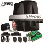 Kit Motor Turbo 350kg Portão Desliza Atto 1/5hp 5 Crem 3cont 220v