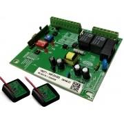 kit placa kxh30fs deslizante rossi + 2 tx car sensor