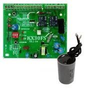 kit placa kxh30fs deslizante rossi +capacitor 30uf