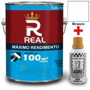KIT REAL MAXIMO RENDIMENTO BRANCO 3,6L + 01 XADREZ OCRE