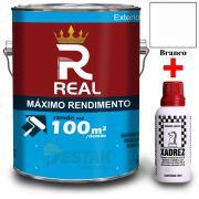 KIT REAL MAXIMO RENDIMENTO BRANCO 3,6L + 01 XADREZ VERMELHO 50ML