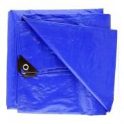 Lona leve 4x3m Impermeável azul - Starfer