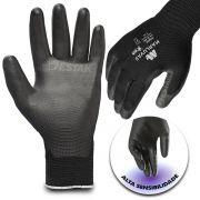 Luva Proteção A Abrasivos E Punho Tricotado Anti-resíduos