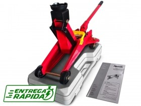 Macaco Hidraulico Jacare 2T Altura 295mm C/ Maleta