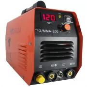 Maquina De Solda Inversora Tig/mma-200 Power 5.7 Wk Premium
