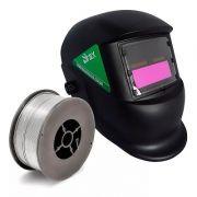 Máscara De Solda Automática Ferramenta Soldador Braxsoldas