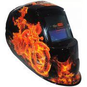 Máscara De Solda Automática Personalizada Qualidade Forte - Titanium