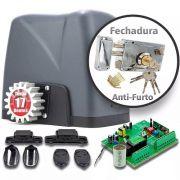 Motor Portão Deslizante 1/4 Dz Nano + Fechadura Anti-furto 220v