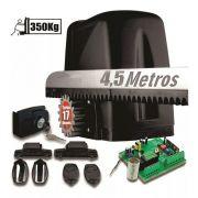 Motor Portão Dz Atto Turbo 1/5hp 4,5m Crema 2 Control 350kg