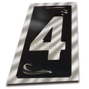 Número 4 Residencial Espelhado Denardi Grande