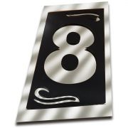 Número 8 Residencial Espelhado Denardi