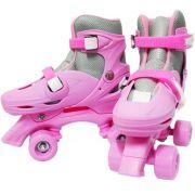 Patins Roller Ajustável Infantil Tamanho 31 34 35 38 39 42