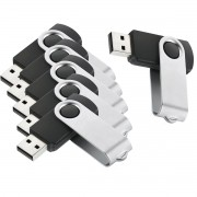 Pen Drive Twist Digital 8 GB Preto S/ Marca Estampada-MULTILASER-PD587BU