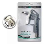 Pistola Stels Ar Comprimido Engate Fêmea 1/4 Para Limpeza