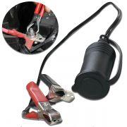Plug Adaptador Veicular Carro Bateria 12v Nautika
