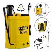 Pulverizador Costal 2 Em 1 Elétrico E Manual Lynus 18 L