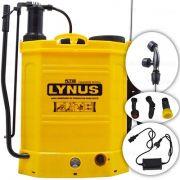 Pulverizador Costal Eletrico A Bateria - 18 Litros - Lynus