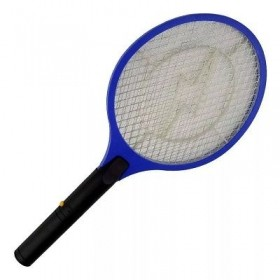 Raquete Elétrica Mata Moscas Mosquito Frita Insetos