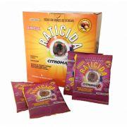 Raticida Citromax Girassol - 250g - 10 Saches De 25g - Mata Ratos
