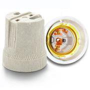 Receptáculo Em Porcelana P/Soquete C/Alça E27