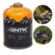 Refil 01 Gás Maxx 450g Nautika 75% Iso - Butano Camping