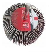 Roda De Lixa 60x20 Mm P40 C/ Haste Mtx