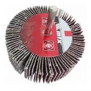 Roda P/ Polimento Lixa 80x30mm P80 C/ Haste Mtx