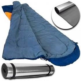 Saco De Dormir Freedom Com Capuz -1,5ºc À -3,5ºc Ntk - Azul