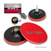Suporte De Boina C/ Velcro P/ Furadeira 115mm Mtx