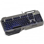 Teclado Gamer Ragnar Superfície Metal LED Warrior TC222