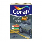 Tinta Pinta Piso Coral 18L Quadras Esportivas e Trafego Diversas Cores