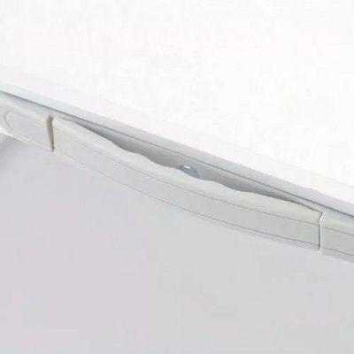 2 peças Mesa Dobravél Alumínio 90x60cm Multiuso Suporta Até 50kg
