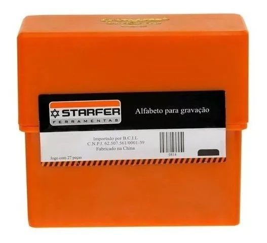 Abcdário De Marcação De Bater Starfer 8mm