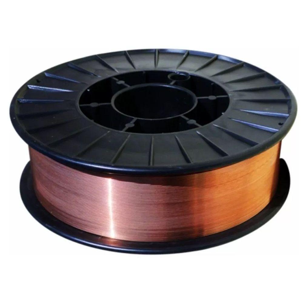 Arame De Solda Mig 0.8mm - Carretel 15kg C/4 Bico 0.8 M6