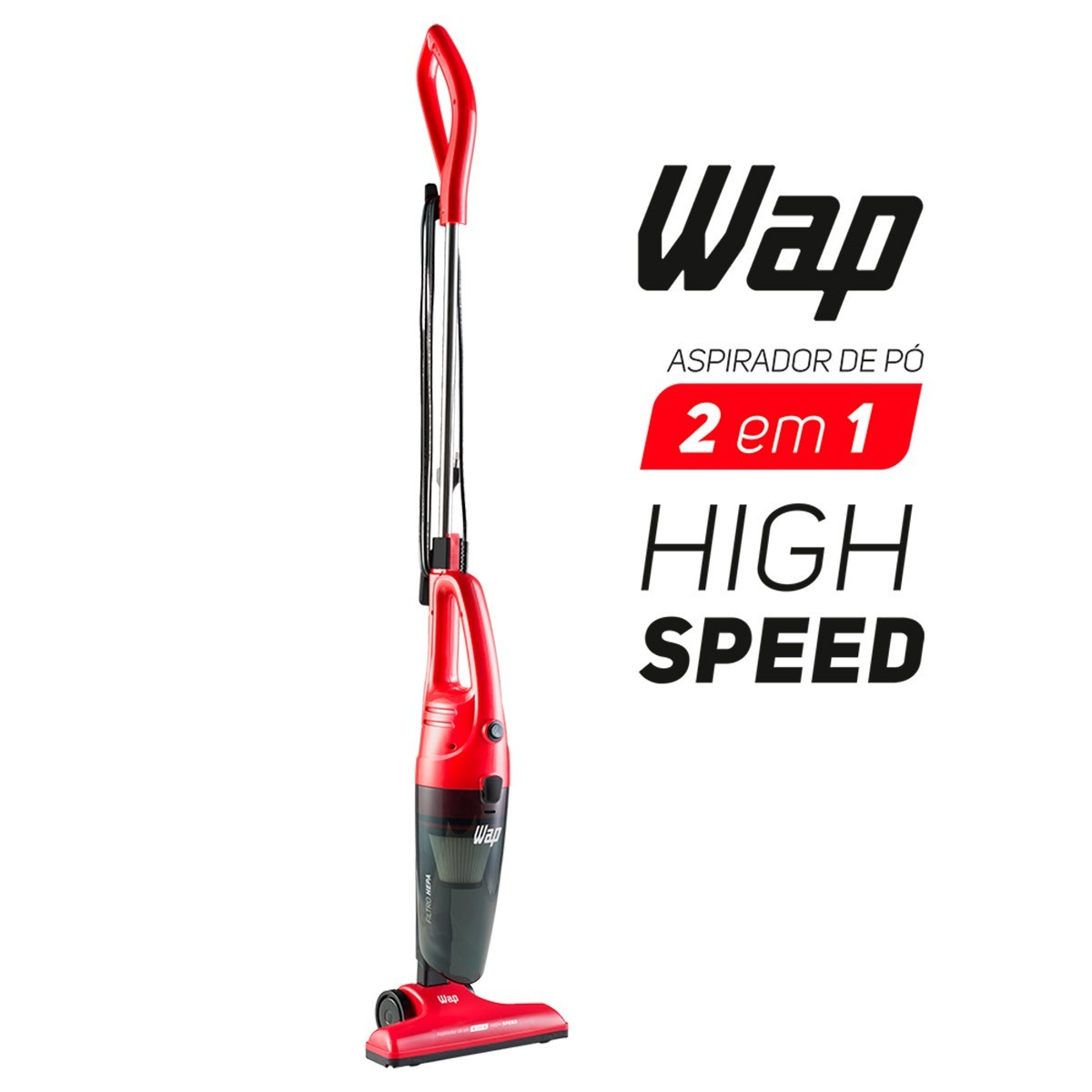 Aspirador De Pó Wap High Speed 1000w