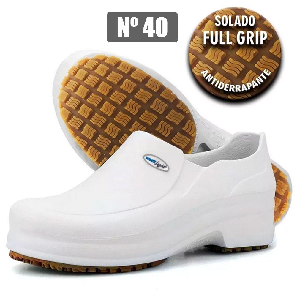 Bota Calçado Segurança Eva P/limpeza Antiderrapante Nº 40