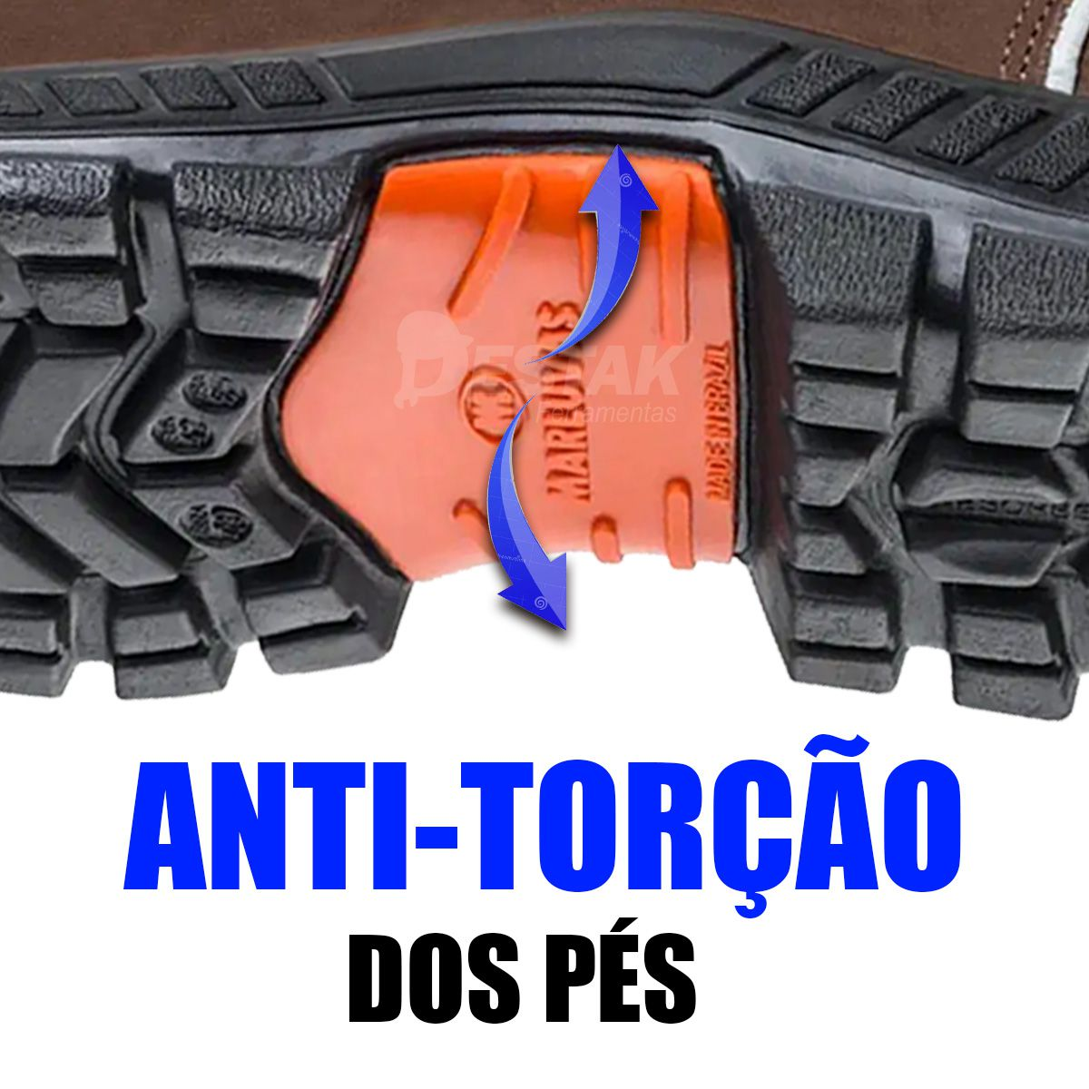 Botina Couro Marrom Claro De PVC N°40 Premier Marluvas