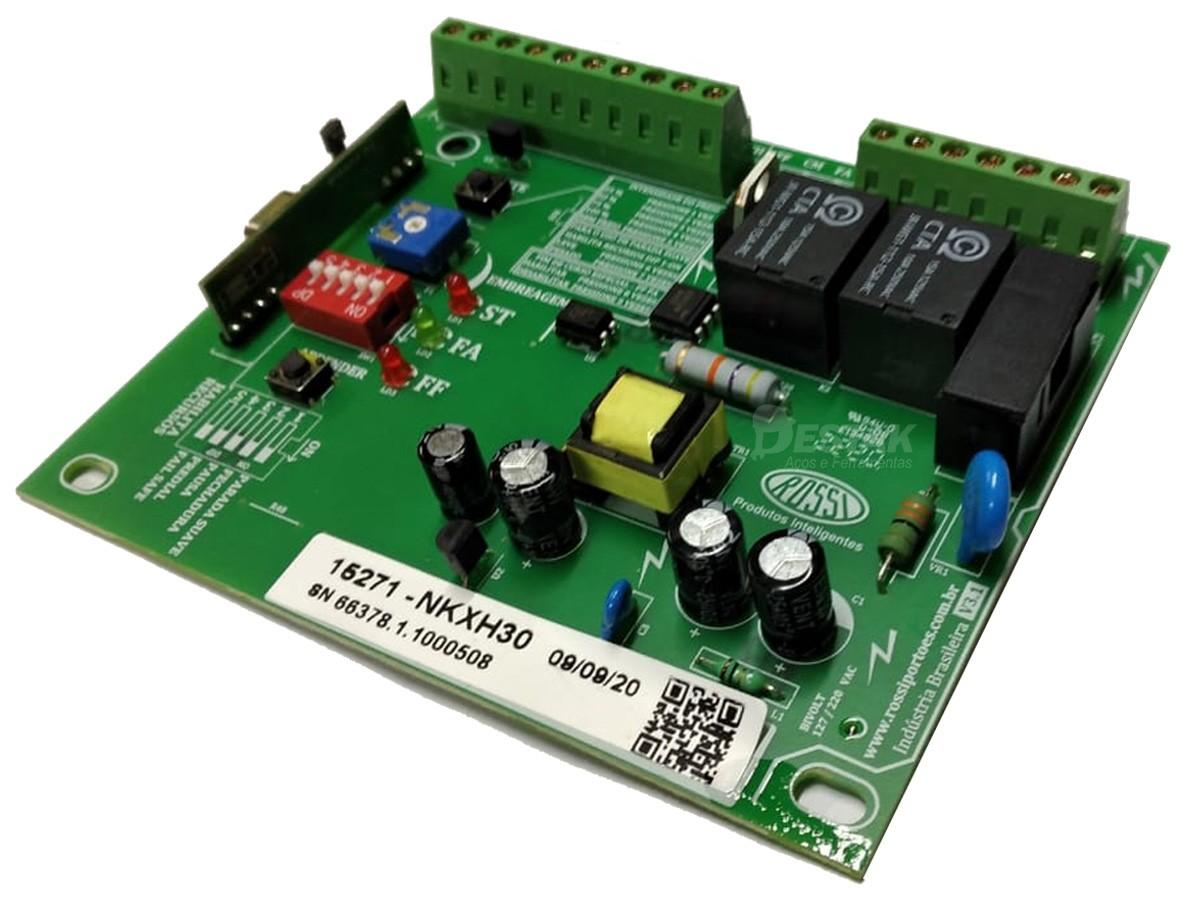 Central Placa Motor Kxh30fs Rossi + Par Ima Fim Curso 2 controle e 1 capacitor 12 Uf